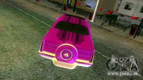 Cadillac Fleetwood Coupe pour une vue GTA Vice City d'en haut