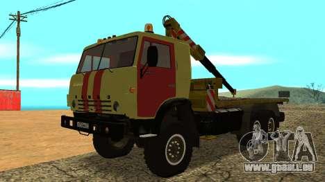 Dépanneuse 43114 KAMAZ pour GTA San Andreas