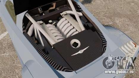 Chrysler ME Four-Twelve [EPM] pour GTA 4 est une vue de l'intérieur
