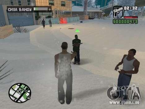 Umschalten zwischen Zeichen wie in GTA V für GTA San Andreas achten Screenshot