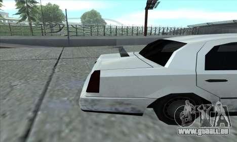 Le tronçon de GTA 5 pour GTA San Andreas vue de droite
