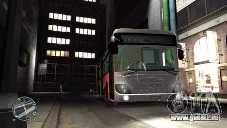 Daewoo BC211MA Baku für GTA 4 rechte Ansicht