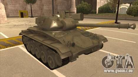 M41A3 Walker Bulldog pour GTA San Andreas laissé vue