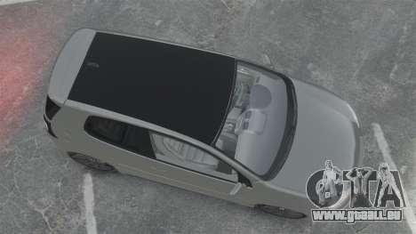 Volkswagen Golf GTi DT-Designs pour GTA 4 est un droit