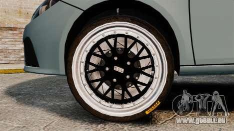 Seat Leon Gtaciyiz pour GTA 4 Vue arrière