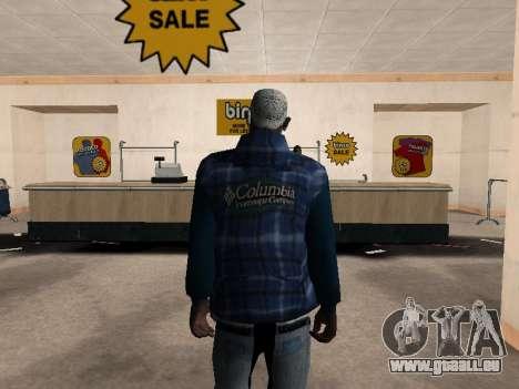 La nouvelle veste CJ pour GTA San Andreas