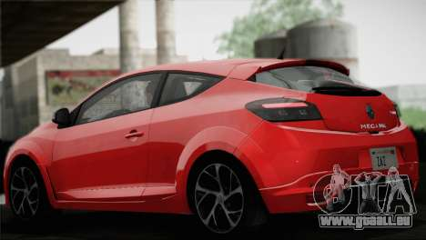 Renault Megane RS Tunable pour GTA San Andreas roue
