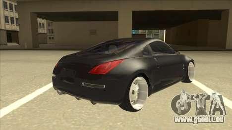Nissan 350z SimpleDrift pour GTA San Andreas vue de droite