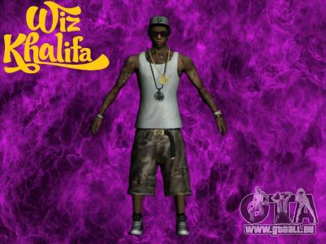 Wiz Khalifa für GTA San Andreas