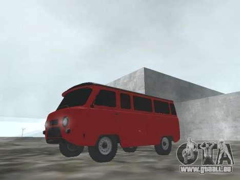 UAZ 22069 pour GTA San Andreas laissé vue