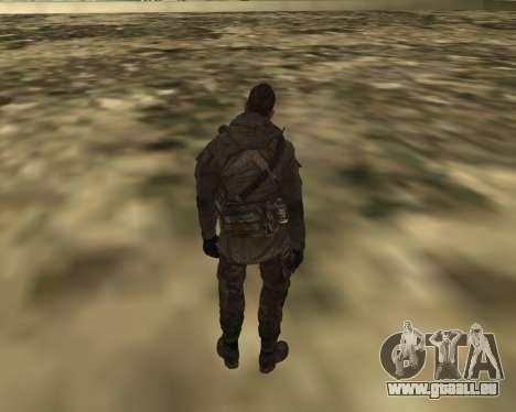 Soap pour GTA San Andreas troisième écran