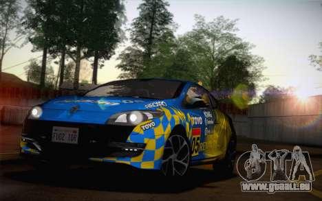 Renault Megane RS Tunable pour GTA San Andreas vue de côté