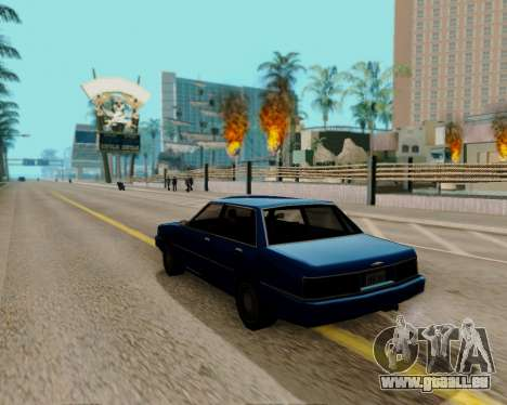 ENBSeries für leistungsstarke PC für GTA San Andreas zweiten Screenshot