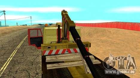 KAMAZ 43114 Abschleppwagen für GTA San Andreas obere Ansicht