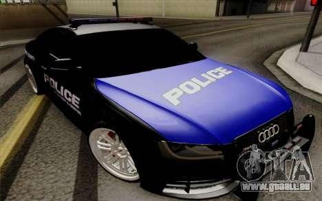Audi RS5 2011 Police pour GTA San Andreas