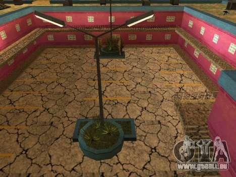 Nouvelles textures à Jefferson pour GTA San Andreas quatrième écran