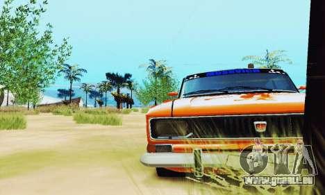 Moskvich 2140 für GTA San Andreas Rückansicht