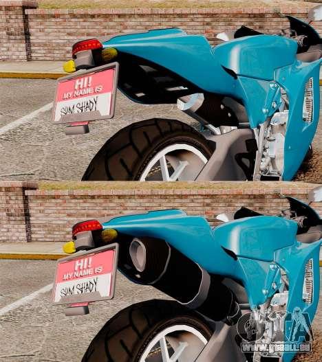 Ducati Desmosedici RR 2012 pour GTA 4 est une vue de l'intérieur