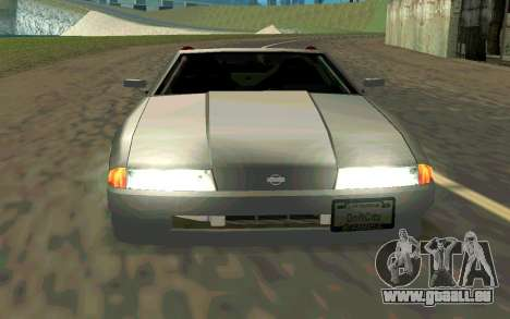 Elegy Cabrio pour GTA San Andreas vue de droite