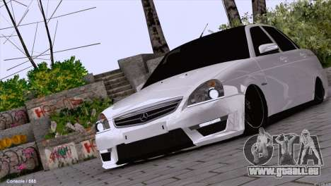 Lada Priora AMG Version pour GTA San Andreas