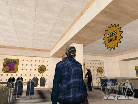 Die neue CJ-Jacke für GTA San Andreas zweiten Screenshot