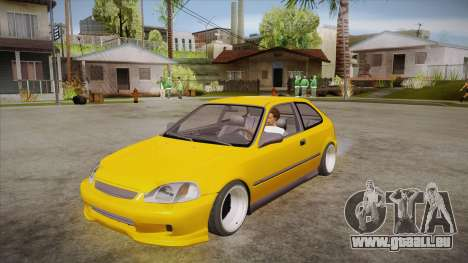 Honda Civic 1998 Tuned pour GTA San Andreas
