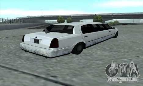 Le tronçon de GTA 5 pour GTA San Andreas sur la vue arrière gauche