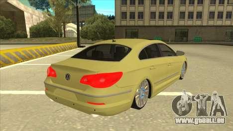 VW Passat CC für GTA San Andreas rechten Ansicht