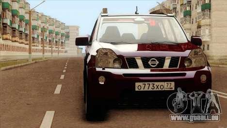 Nissan X-Trail 2009 für GTA San Andreas zurück linke Ansicht