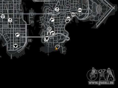 Maison de plage pour GTA 4 neuvième écran