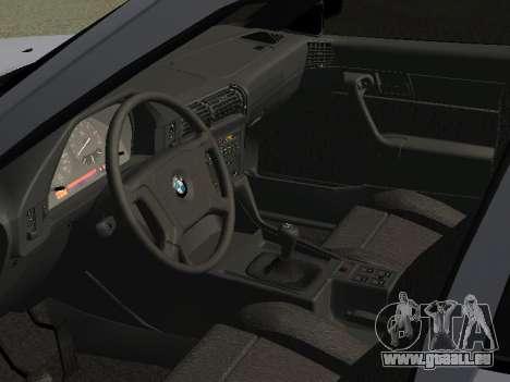 BMW 525I pour GTA San Andreas vue arrière