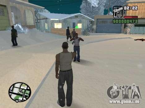 Umschalten zwischen Zeichen wie in GTA V für GTA San Andreas siebten Screenshot