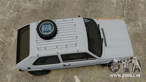 Volkswagen Golf MK1 GTI Rat Style für GTA 4 rechte Ansicht