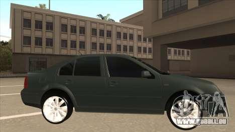 Jetta 2003 Version Normal pour GTA San Andreas sur la vue arrière gauche
