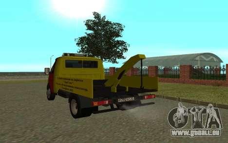 3302 Gazelle tow Truck Business für GTA San Andreas rechten Ansicht