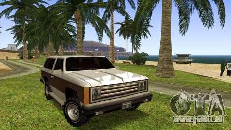 Rancher Bronco für GTA San Andreas