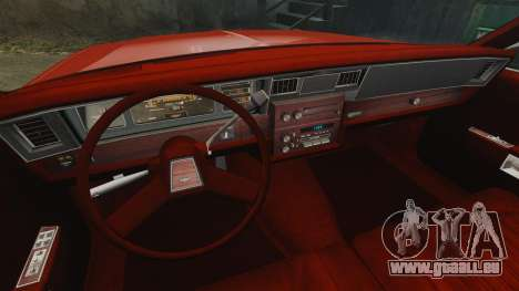 Chevrolet Caprice Wagon 1989 pour GTA 4 est un côté