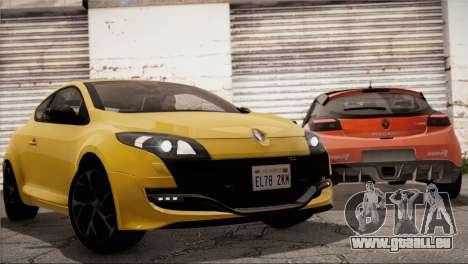 Renault Megane RS Tunable pour GTA San Andreas