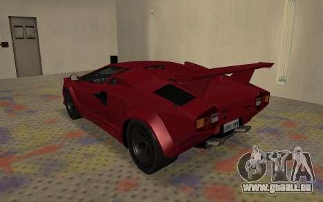 Lamborghini Countach LP5000 Extreme für GTA San Andreas rechten Ansicht