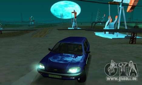 21236 Chevrolet Niva VAZ pour GTA San Andreas vue de droite
