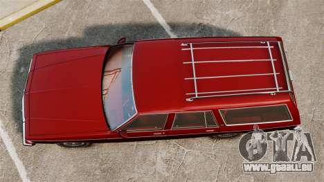 Chevrolet Caprice Wagon 1989 pour GTA 4 est un droit