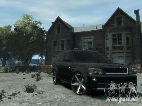 Range Rover Sport 2013 pour GTA 4 est un droit