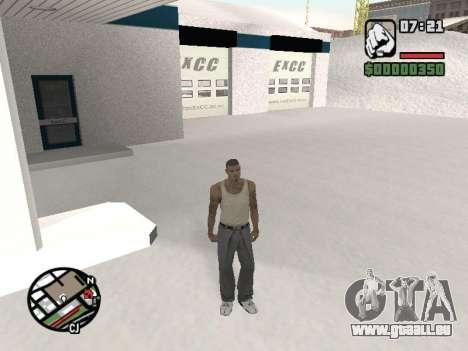 Umschalten zwischen Zeichen wie in GTA V für GTA San Andreas dritten Screenshot