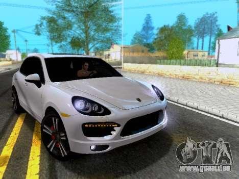 Porsche Cayenne Turbo S 2013 V1.0 pour GTA San Andreas