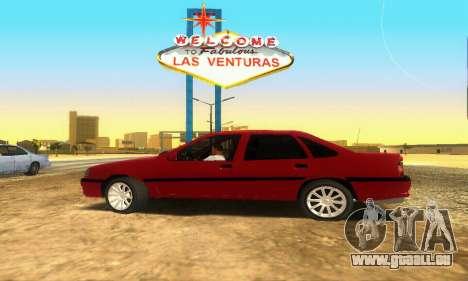 Opel Vectra A pour GTA San Andreas vue arrière