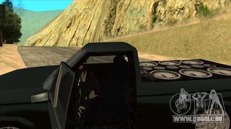 NEW Bobcat für GTA San Andreas Seitenansicht