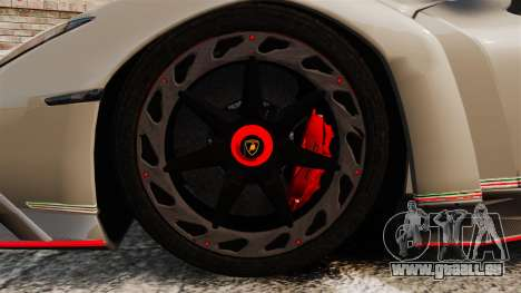 Lamborghini Veneno für GTA 4 Rückansicht