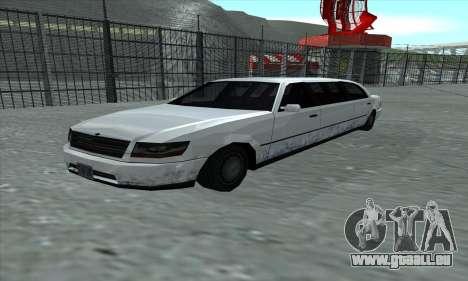 Le tronçon de GTA 5 pour GTA San Andreas