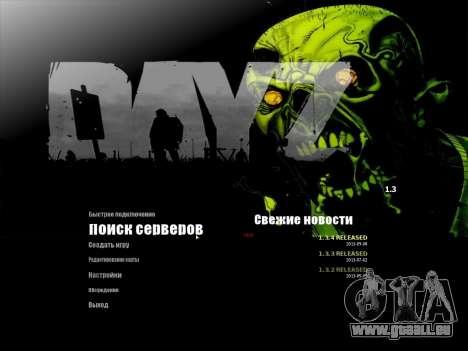 Das Menü des MTA auf Russisch für GTA San Andreas zweiten Screenshot