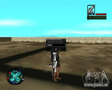 Cleo Gun for SA:MP (dgun) für GTA San Andreas her Screenshot